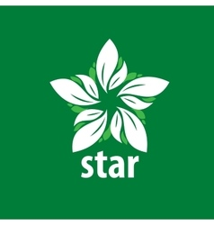 Logo star vector