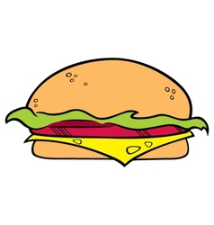 Hamburger symbol vector