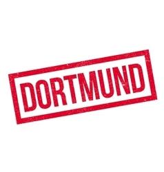 Dortmund rubber stamp vector