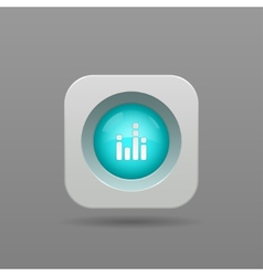 Equalizer button vector