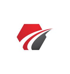 Faster logo template icon vector