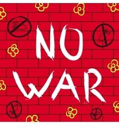 No war background vector image vector image