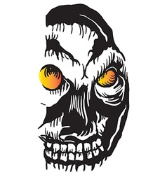 Skull - drawing vector