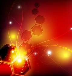 fantastic abstract design background vector image