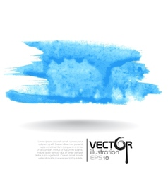 Abstract Blue Blurred Background vector image vector image