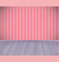 Background empty room with wooden grey floor or vector