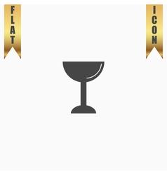 drink wineglass vector image vector image