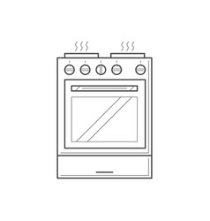 Kitchen object concept vector