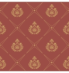 Pattern in baroque style vector