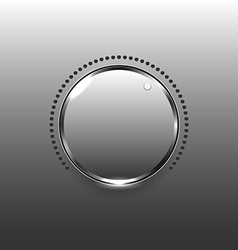 Volume button vector image vector image