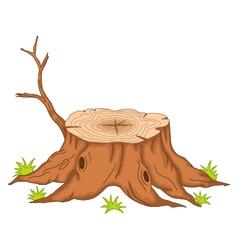 Root of tree cartoon vector