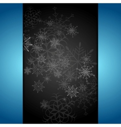 Dark abstract Christmas background vector image vector image