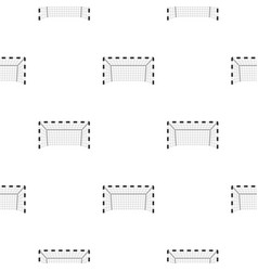 Football or soccer gate pattern seamless vector