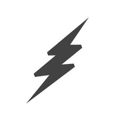 Lightning bolt vector