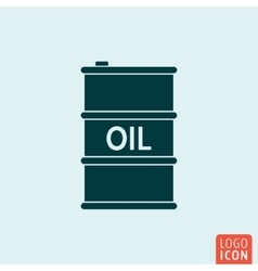 Barrel oil icon isolated vector image