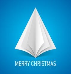 Merry christmas corner paper 04 vector