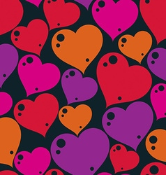 Valentine's day conceptual art backdrop loving vector