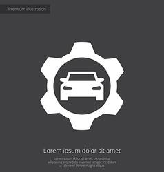 auto service premium icon vector image