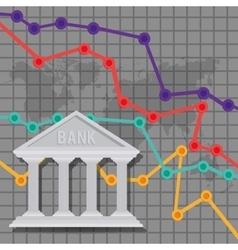 Banking trade design vector