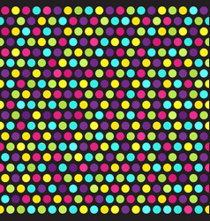 Polka dot pattern seamless vector