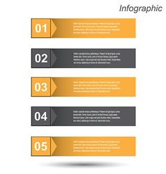 Infographic design template vector
