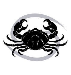 Cancer zodiac horoscope astrology sign vector
