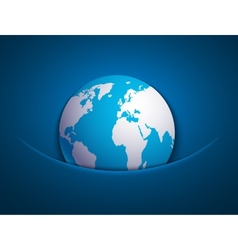 modern earth background vector image