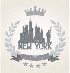 New york city icon vector