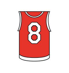 basketball uniform design vector image