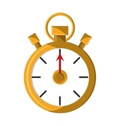 Chronometer of american football design vector