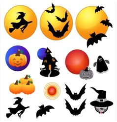 Halloween icon vector image