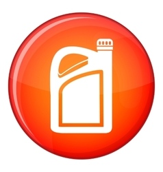 Jerrycan icon flat style vector