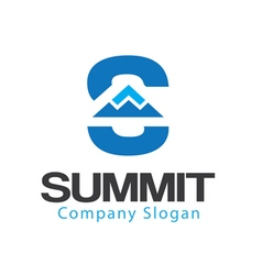 Summit design vector