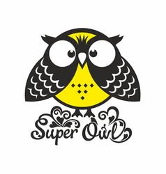 Super owl vector