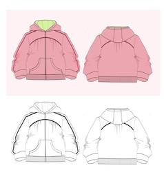 Sweatshirt vector image