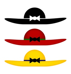 Woman hats vector