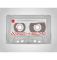 Audio cassette 02 vector