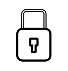 Security padlock key to protection information vector