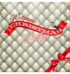 Christmas party poster eps 10 vector
