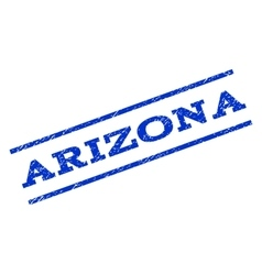 Arizona Watermark Stamp vector image vector image