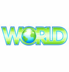 Global world vector