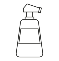 Water spray bottle isolated icon vector