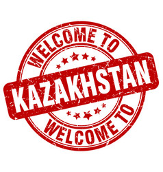 Welcome to kazakhstan vector
