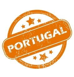 Portugal grunge icon vector