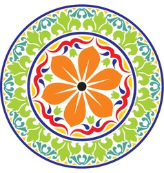 Design round colored vector