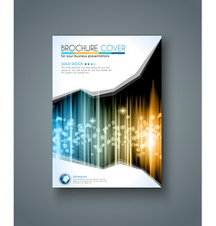 Brochure template Flyer Design and Depliant Cover vector image vector image
