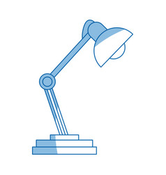 Desk lamp ornament light decoration vector