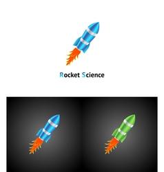 Rocket Symbol vector image vector image