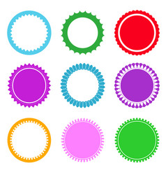 Set of design elements and labels vector