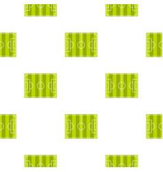 Soccer field pattern seamless vector